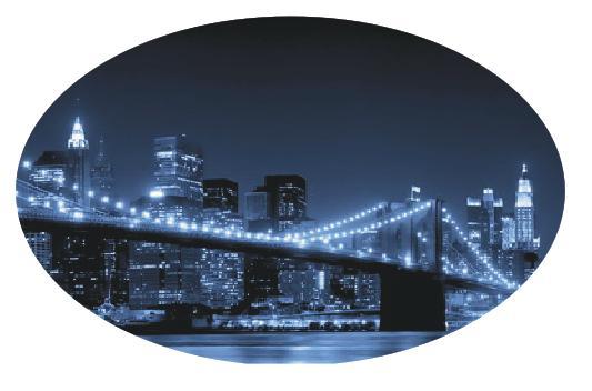 Овальная столешница ночной мост