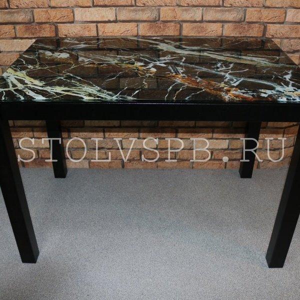 Стеклянный обеденный стол с фото
